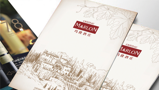 法国玛隆酒庄画册设计