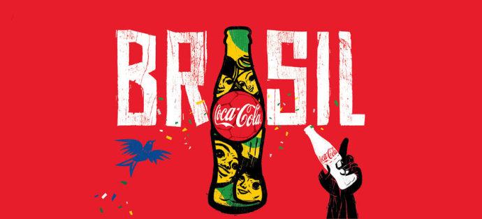 可口可乐巴西世界杯品牌创意|河南亦锐营销策划有限