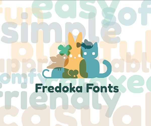 世界上数量众多的免费字体中,最让人用得放心的我想就是Google字体了吧!字体精心设计、富有美感并且完全开源,可以放心大胆地免费使用。 在这些优秀的Googel字体之中,我将为大家介绍一下个人比较推荐的12款字体。   Fredoka One 免费个人使用及商用,许可:Open Font License 有点胖但很可爱的非衬线体字体,在Google Font上只提供字体,惊喜是有收集的一些Fredoka的装饰图形,可以从Behance上下载。  Marko One 免费个人使用及商用,许可:Open Fo