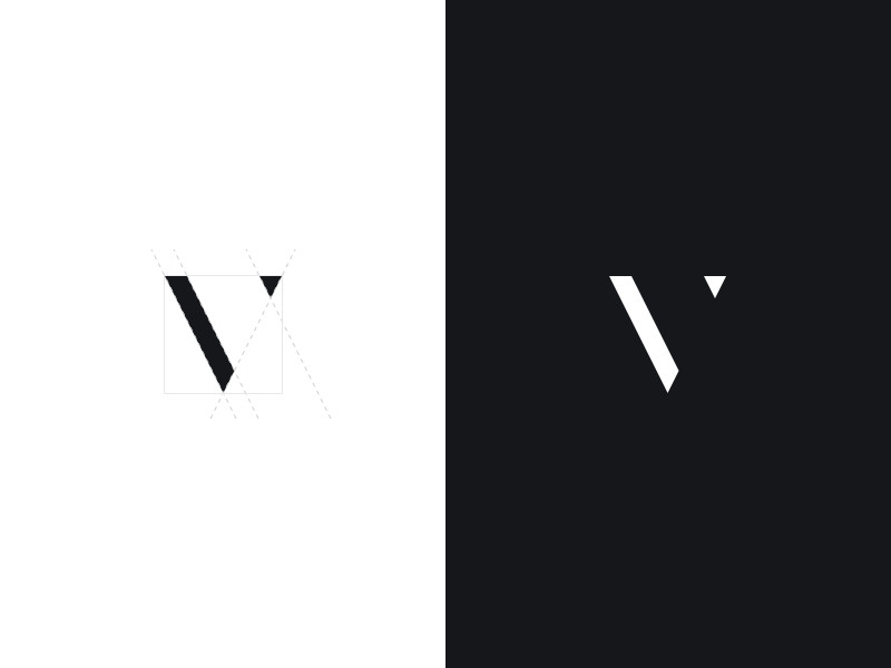 极简风格的logo设计