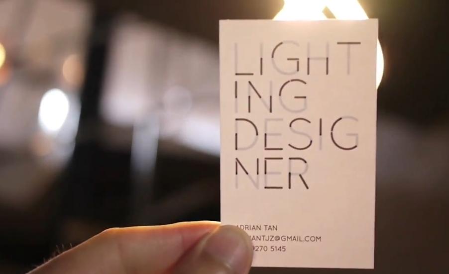 遇光化神奇:灯光设计师的创意名片