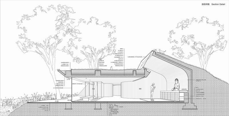 唐山水岸佛堂 by 建筑營設計工作室