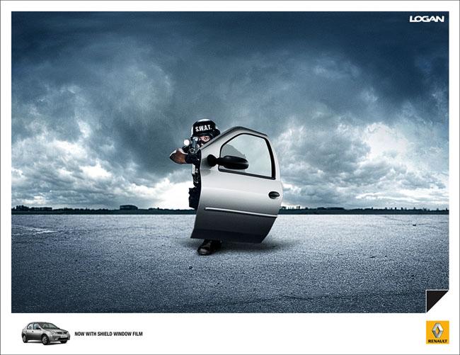 汽车创意广告整理