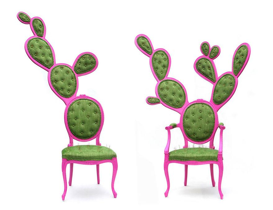 可爱创意的彩色椅子设计